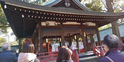 武蔵一宮氷川神社の神楽