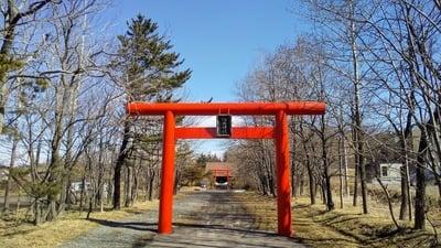 輪西神社の鳥居