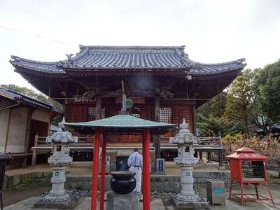 天皇寺の本殿