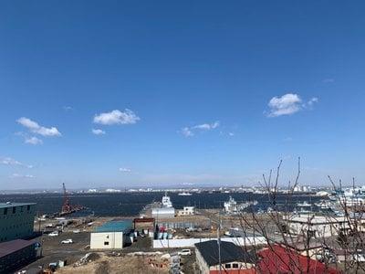 釧路一之宮 厳島神社の景色