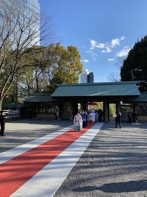 東郷神社の結婚式
