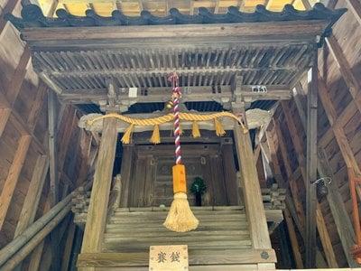 朝倉神社の本殿