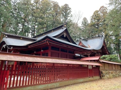 都々古別神社(八槻)の本殿