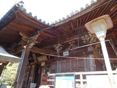 白峯寺の本殿