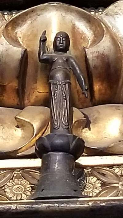 帰厚院の仏像