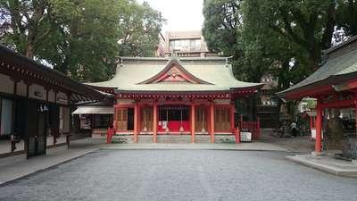 荒田八幡宮の本殿