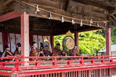 箭弓稲荷神社の神楽