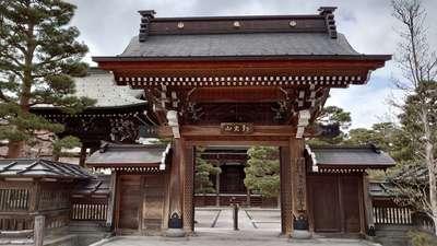 真宗寺の山門