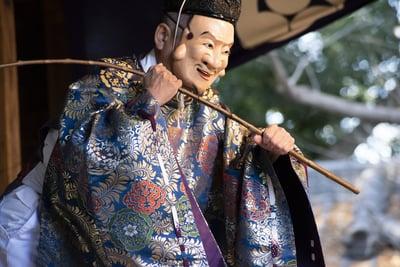 玉敷神社の神楽