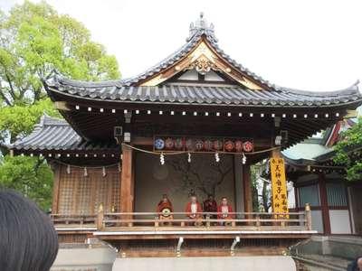 亀戸天神社の神楽