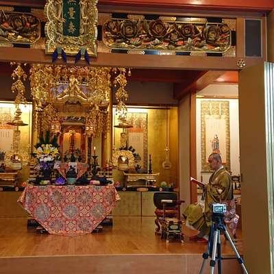 教西寺の本殿