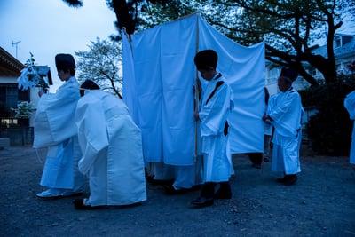 日枝社の神楽