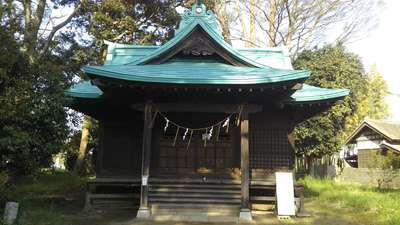 酒門神社の本殿