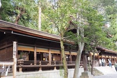諏訪大社下社秋宮の本殿