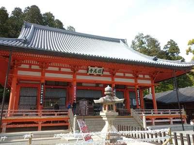 勝尾寺の本殿