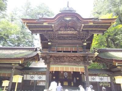 諏訪大社下社春宮の本殿