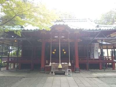 赤坂氷川神社の本殿
