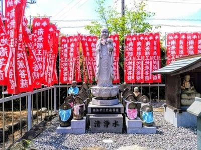 喜雲山 大龍寺の地蔵