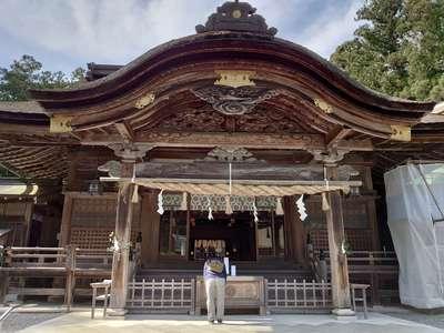 小國神社の本殿