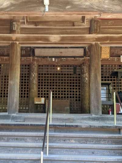 大御堂寺の本殿