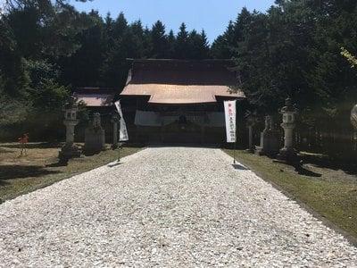 網走神社の本殿
