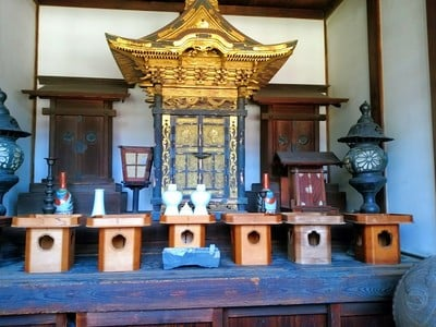 海見山 誓満寺の末社