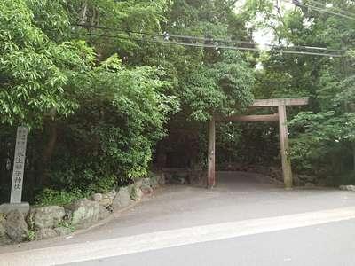 氷上姉子神社の鳥居