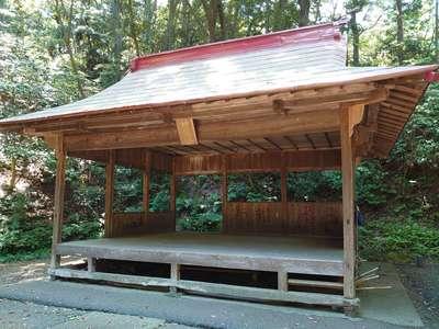 諏訪神社の神楽