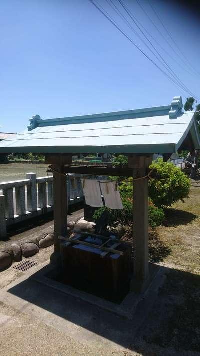 中島神社の手水