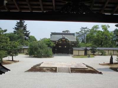 大覚寺の本殿