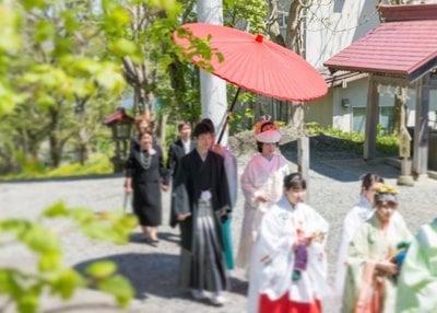 釧路一之宮 厳島神社の結婚式