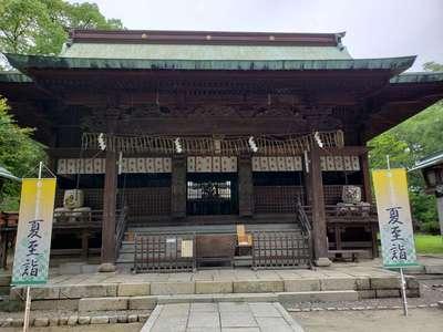 篠山神社の本殿
