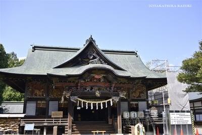 秩父神社の本殿