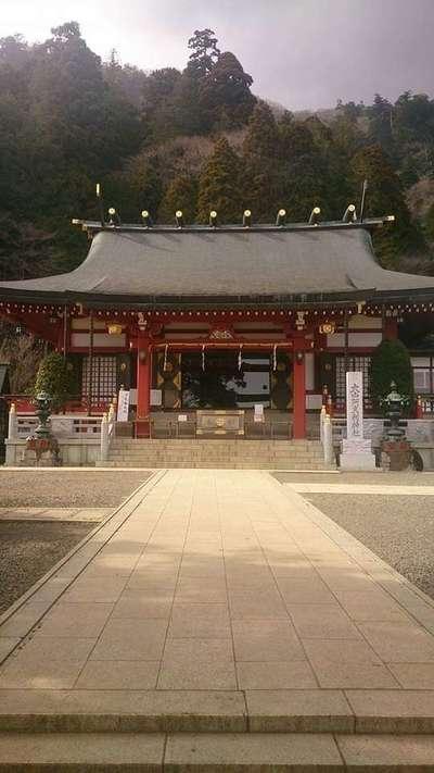 大山阿夫利神社の本殿