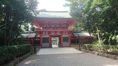 井草八幡宮の山門