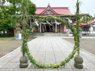 釧路一之宮 厳島神社の建物その他