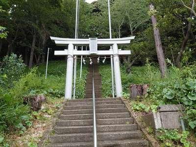 森浅間神社の鳥居