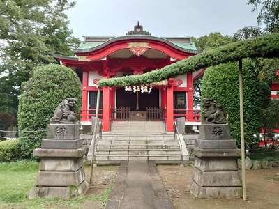 森浅間神社の本殿