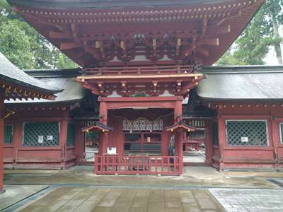 一之宮貫前神社の本殿