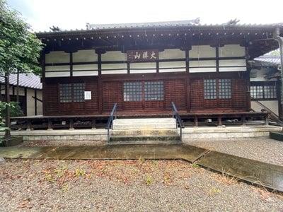 宝積寺の本殿