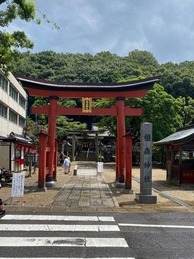 橿森神社の鳥居