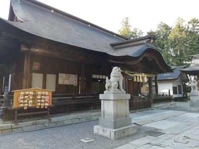 甲斐國一宮 浅間神社の本殿