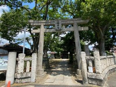 八幡橋八幡神社の鳥居