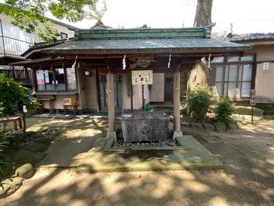 八幡橋八幡神社の手水
