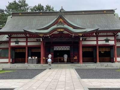 氣比神宮の本殿