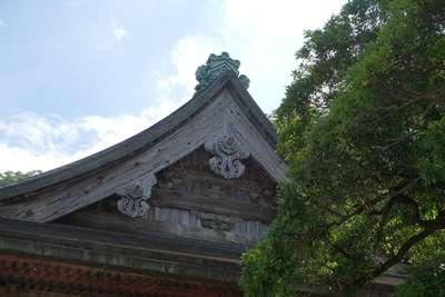 青岸渡寺の本殿