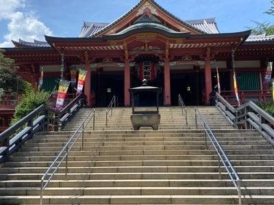 瀧泉寺(目黒不動尊)の本殿