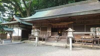 丹生川上神社(下社)の本殿