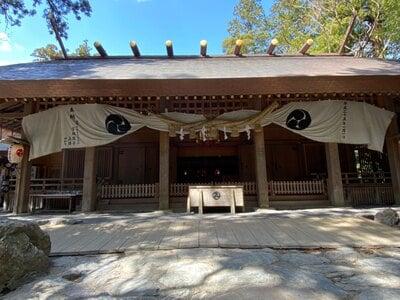 椿大神社の本殿