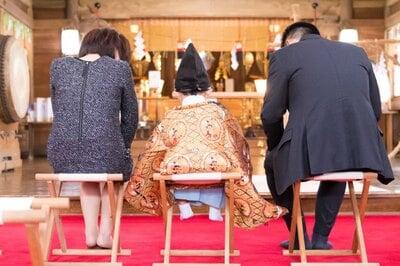 釧路一之宮 厳島神社の七五三参